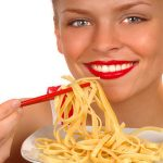 Comer pastas para adelgazar